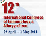12th International Congress of Immunology and Allergy of Iran
